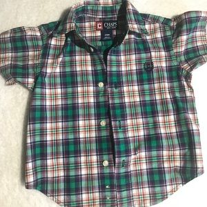 Chaps Button Down Shirt EUC